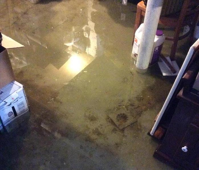 Water Damage Flooded Basement? Call SERVPRO of Paramus